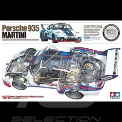 Maquette Kit Modellbau Porsche 935 Martini 1976 1/12 Tamiya 12057