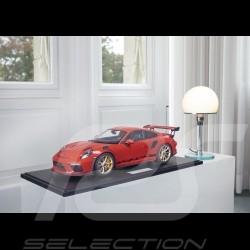 Précommande Porsche 911 GT3 RS type 991 2018 rouge indien 1/8 Minichamps 800640000