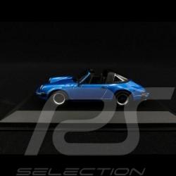 Porsche 911 Targa 2.7 1977 bleu métallisé 1/43 Minichamps 940061261