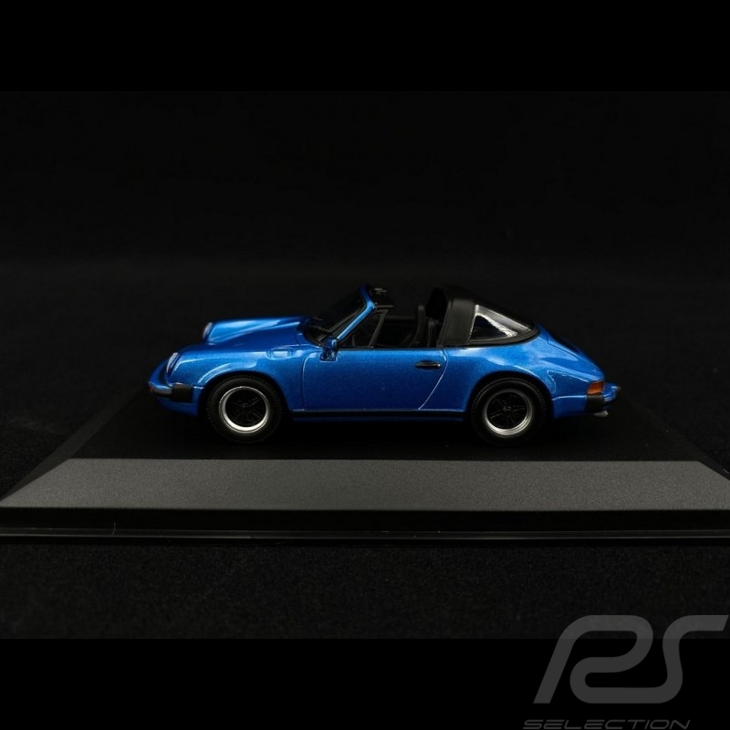 Porsche 911 Targa 2.7 1977 metallic blue 1/43 Minichamps 940061261