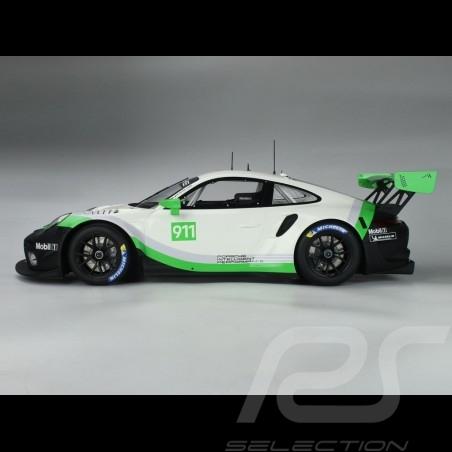 Précommande Porsche 911 GT3 R type 991 n° 911 2019 Version de présentation 1/8 Minichamps 800196002