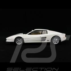 Ferrari Testarossa Monospecchio US version 1984 Bianco 1/18 KK Scale KKDC180502
