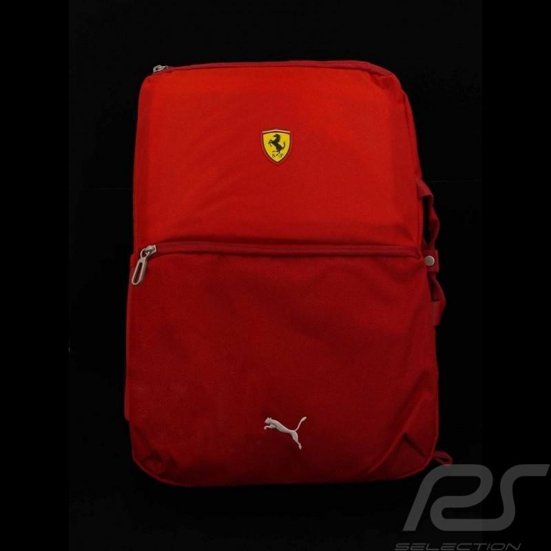 Ferrari Backpack Puma Laptop Bag Red Ferrari Motorsport Collection Selection Rs