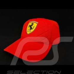 Ferrari cap quilted red