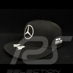 Mercedes AMG Petronas Motosport kappe Lewis Hamilton n° 44 schwarz Mercedes-Benz 141191045100
