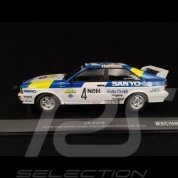 "Audi Quattro ""Audi Sport Sweden"" n° 4 Sieger Swedish Rallye 1982 1/18 Minichamps 155821105"