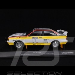 Audi Quattro A2 Audi Sport n° 2 Sanyo Rallye New Zealand 1984 1/18 Minichamps 155841101