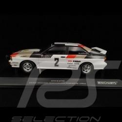 Audi Quattro Audi Sport n° 2 Vainqueur Rallye de Suède 1981 1/18 Minichamps 155811102