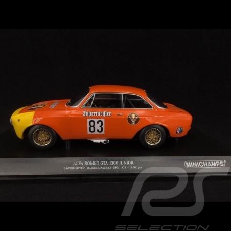 Alfa Romeo 1300 GTA Junior Jägermeister n° 83 DRM 1972 1/18 Minichamps 15521283