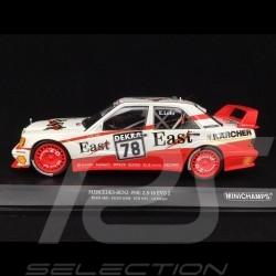 Mercedes-Benz 190E 2.5-16 EVO 2 AMG n° 78 DTM 1991 1/18 Minichamps 155913678