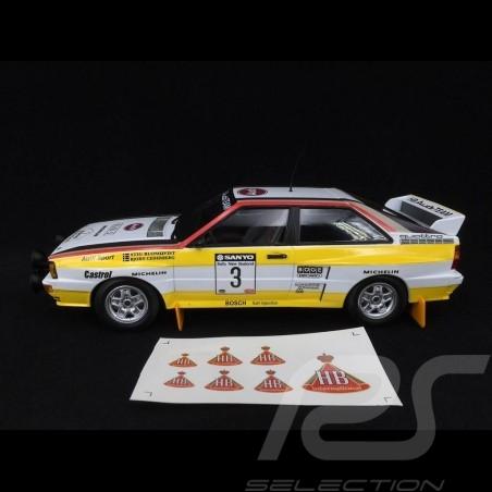 Audi Quattro A2 Audi Sport n° 3 Winner Sanyo Rallye New Zealand 1984 1/18 Minichamps 155841103