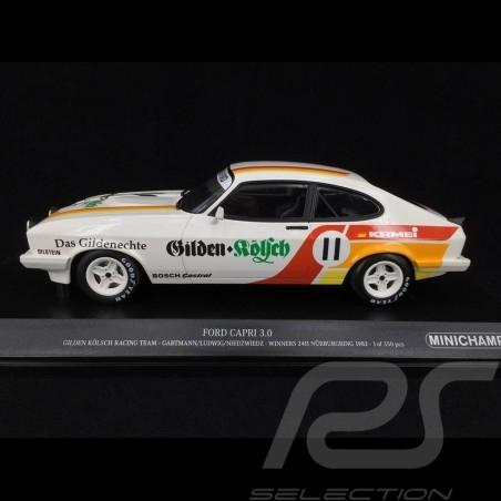 Ford Capri 3.0 Gilden Kölsch Racing Team n° 11 Sieger Nürburgring 1982 1/18 Minichamps 155828611