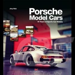 Livre Porsche Model Cars - 70 Years of Sports Car History