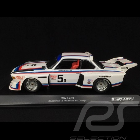 BMW 3.5 CSL n° 5 6H Watkins Glen 1979 1/18 Minichamps 155792605