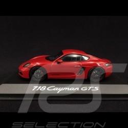 Porsche 718 Cayman GTS 4.0 2020 rouge carmin 1/43 Minichamps WAP0204170L