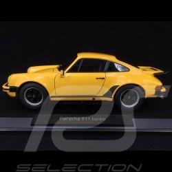 Porsche 911 Turbo 3.0 type 930 1976 Yellow 1/18 Norev 187579