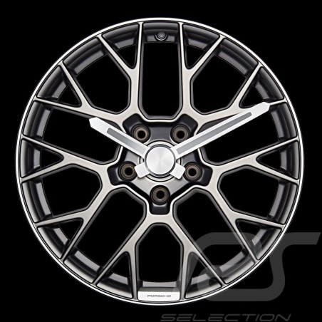 Porsche originale Wanduhr Felge Porsche Design WAP0700110L