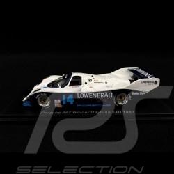 Porsche 962 Löwenbräu Vainqueur Daytona 24H 1987 1/43 Spark 43DA87