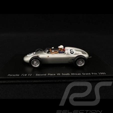 Porsche 718 F2 n° 6 GP Afrique 1960 1/43 Spark MAP02021313