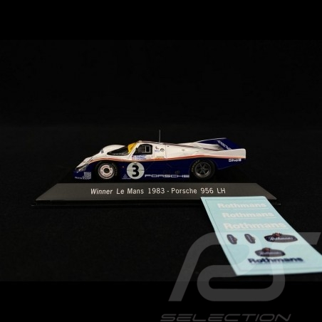 Porsche 956 LH Winner Le Mans 1983 n° 3 1/43 Spark MAP02028313