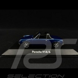 Porsche 914/6 1973 Alaskametallic blau 1/43 SPARK MAP02005918