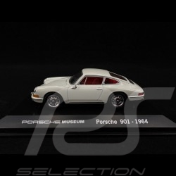 Porsche 901 1964 ivoire 1/43 Welly MAP01990113