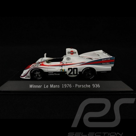 Porsche 936 Vainqueur Winner Sieger Le Mans 1976 n° 20 Martini 1/43 Spark MAP02027613