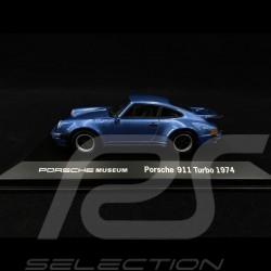 "Porsche 911 Turbo 3.0 "" 40 ans Turbo "" bleu 1/43 Welly MAP01993014"