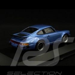 """Porsche 911 Turbo 3.0 """" 40 jahre Turbo """" blau 1/43 Welly MAP01993014"""