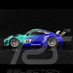 Porsche 911 GT3 R type 991 Falken Motorsports n° 44 Nüburgring 2017 1/18 Spark SG025