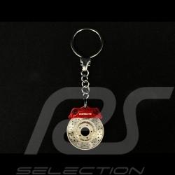 Porte-clés Porsche disque de frein rouge MAP04506412