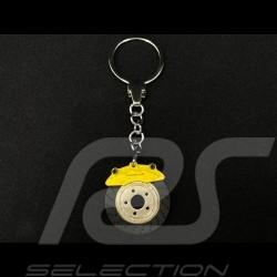 Porte-clés Porsche disque de frein jaune MAP04506618