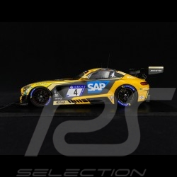 Mercedes Benz AMG GT3 Black Falcon n° 4 24H Nürburgring 2018 1/18 Spark 18SG028