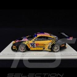 Porsche 911 GT3 R typ 991 n° 16 FIA Motorsport Games GT Cup Vallelunga 2019 1/43 Spark S6316