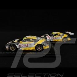 Duo Posche 911 GT3 R typ 991 n° 98 & n° 99 FIA GT World Cup Macau 2019 1/43 Spark SA210 SA211
