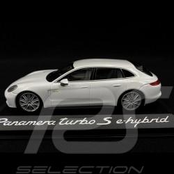 Porsche Panamera Turbo S e-Hybrid 2016 white 1/43 Minichamps WAP0207630J