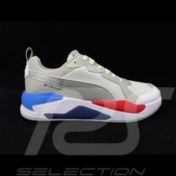 Chaussure Sport BMW Motorsport sneaker / basket Puma MMS X-Ray Blanc / Gris - homme