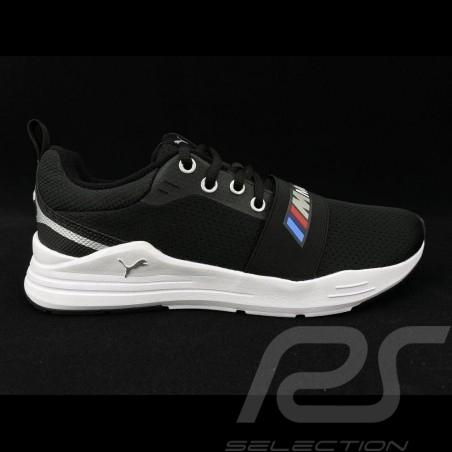Chaussure Sport BMW Motorsport sneaker / basket Puma MMS Wired Run Noir - homme