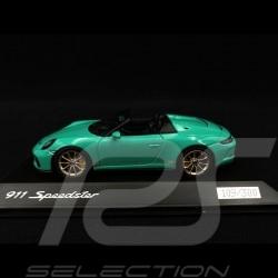 Porsche 911 Speedster type 991 Jade Grün 1/43 Spark WAXL2000008