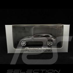 Porsche Panamera Turbo 2017 metallic dark grey 1/43 Minichamps WAP0207610H