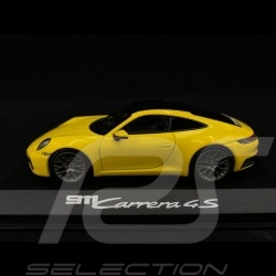 Porsche 911 type 992 Carrera 4S Coupé 2019 Racing yellow 1/43 Minichamps WAP0201720K