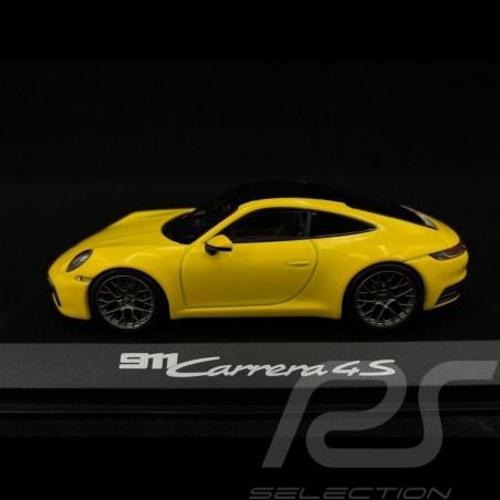 Porsche 911 type 992 Carrera 4S Coupé 2019 1/43 Minichamps WAP0201720K jaune Racing yellow Racinggelb