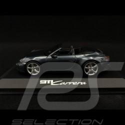 Porsche 911 Carrera cabriolet type 992 2019 Biscay blue 1/43 Minichamps WAP0201750K
