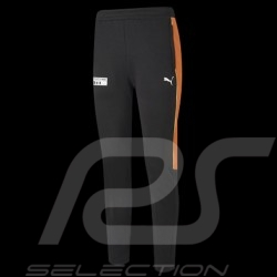 Porsche 911 Hose by Puma Slim Softshell Tracksuit Schwarz / Orange - Herren