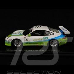 Porsche 911 type 997 n° 4 AlerteGPS Carrera Cup 2008 1/43 Spark MX012