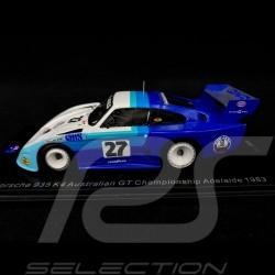 Porsche 935 K4 n° 27 Australian GT Championship Adelaide 1983 1/43 Spark AS051