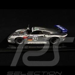 Porsche GT1 type 993 n° 32 Roock Racing Le Mans 1997 1/43 Spark S5608