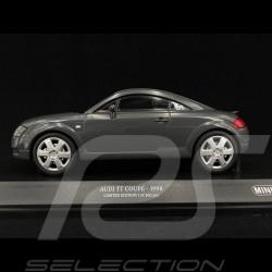 Audi TT Coupé 1998 gris 1/18 Minichamps 155017020