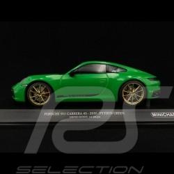 Porsche 911 Carrera 4S type 992 2019 vert python 1/18 Minichamps 155067325