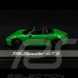 Porsche 718 Boxster GTS 4.0 2020 vert green grün Python 1/43 Minichamps WAP0202080L